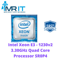 Intel Xeon E3 - 1230v2 3.30GHz Quad Core Processor SR0P4