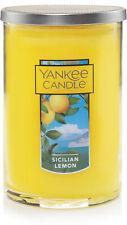 Perfect Pillar Candle, Yankee Candle, 12 oz Sicilian Lemon
