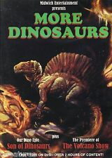 MORE DINOSAURS Midwich DVD Son of DInosaurs VOLCANO SHOW Gary Owens WM STOUT New