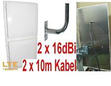 LTE Antenne 1800MHz MIMO 2x16dBi Huawei B593 FRITZBox6840 B2000 Speedport LTE II