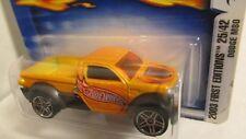 Hot Wheels 2003 First Editions #25 Dodge M80 pickup truck dark yellow