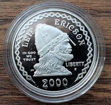 2000 P Leif Ericson Millennium Comm. PF coins / w COA & OGP