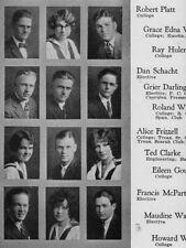 1925 Long Beach CA High School Yearbook~Photos~Van Heflin~The Prowler~Possessed