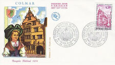FRANCE FDC - 888 1798 2 COLMAR 10 6 1974 - LUXE