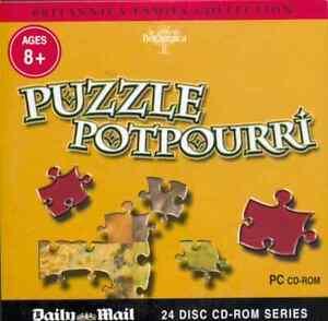 PUZZLE POTPOURRI – PROMO CD-ROM (2007) Encyclopaedia Britannica JIGSAWS / AGE 8+
