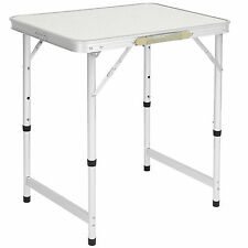 "BCP Aluminum Camping Picnic Folding Table 23.5"" x 17.5"" Portable Outdoor"
