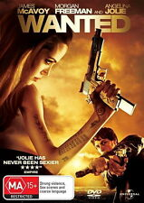 Wanted - Action/ Crime/ Mystery/ Thriller / Fantasy - NEW DVD