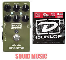 MXR Dunlop M81 Bass Preamp Direct Out 3-band EQ ( 1 SET OF BASS STRINGS ) M-81