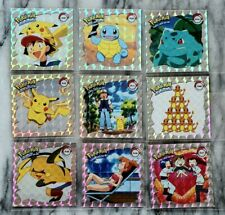 Pokemon Series 1 Sticker Silver Prism 1-44 Set Orginal 1999  Pikachu, Misty...