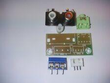 RCA Socket 3.5 mm Blocco Ingresso stabile 5 V KIT FAI DA TE INTERRUTTORE AUDIO BOARD PER AMPLIFICATORE