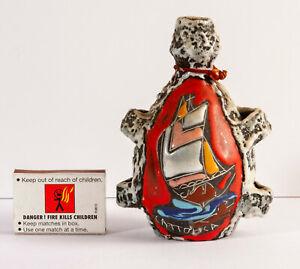 Vintage San Marino Fat Lava style Abstract Miniature Liqueur Bottle 60s, Drioli?