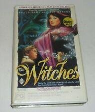 Rare The Witches 1989 Roald Dahl & Jim Henson 80's Fantasy Roadshow Video VHS