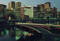 The CITY & RIVER LIGHTS of MELBOURNE VIC POSTCARD - NEW & PERFECT