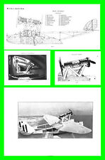 COLLECTION - SAVOIA MARCHETTI SM55 S55 AVIAZIONE REGIA AERONAUTICA Manual - DVD