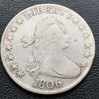 1806 Draped Bust Half Dollar 50c Better Grade  #29246
