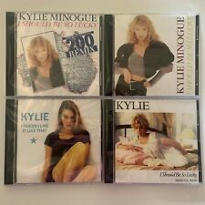 Kylie Minogue LOT of 4 Reissued Maxi Remix CD Singles Sealed