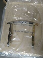 Harley Davidson Skull with Wings Detachable Compact Windshield