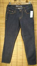 OLD NAVY ROCKSTAR SIZE 4 REGULAR STRETCH DARK WASH WOMEN'S JEANS NWT