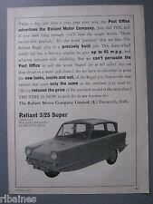 R&L Ex-Mag Advert: Reliant 3/25 Super/ Hardy Spicer Propeller Shafts