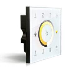 LTECH DX7 4 Zonen LED Wandschalter Controller 2.4 GHz Touch Panel DMX 512 AC230V
