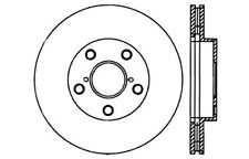 Disc Brake Rotor-High Performance Drilled And Slotted fits 01-05 Toyota RAV4