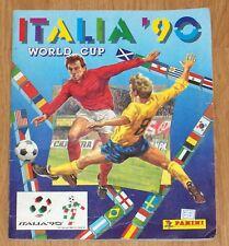 Album Panini World Cup 90 Complete WM Italia 1990 - Good Condition