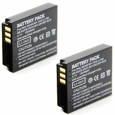 2x 3.7v Li-ion Battery for KODAK PIXPRO SP1 SP1 HD SP360 PlaySport Zx5 SP1-YL3