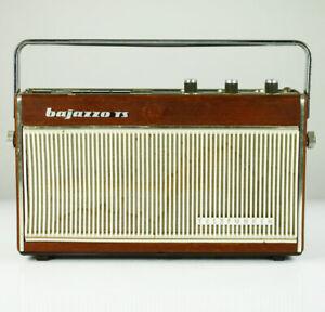 Telefunken Bajazzo TS 3611 Transistor Radio Teak Batteriebetrieb Vintage 60er
