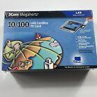 3Com Megahertz LAN CardBus PC Card 10/100 3CXFE575CT - SHRINK WRAPPED 2000