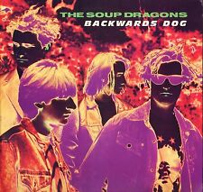 "THE SOUP DRAGONS backwards dog 4 track ep RTV 6T uk raw tv 12"" PS EX/EX"