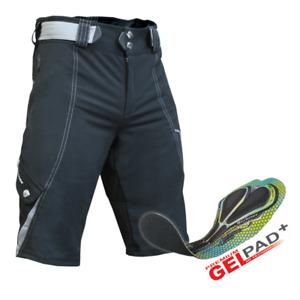 BERKNER Pantaloni da Bicicletta Ruota Uomo Shorts con Seduta Imbottita, Uomo, RY