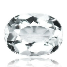 1.73ct 100% Natural earth mined top quality unheated white aquamarine from india