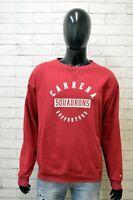 Carrera Maglione Uomo Pullover Rosso Felpa Cardigan Big Size Man 3XL Cotone
