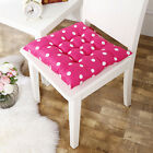 Fashion Soft Home Office Square Cotton Polka Dot Buttocks Chair Cushion Pads New