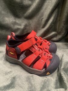 KEEN - Baby  Waterproof Sport Sandal - Size - 6 Months - Red