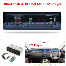 Car Bluetooth FM Radio MP3 Player Stereo Audio In-Dash Aux Input Receiver USB SD