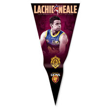 2020 Brisbane Lions AFL Lachie Neale Brownlow Medal Wall Pennant Man Cave Gift