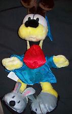 "Lot # 868 Odie 19"" Stuffed Animal in Sleepwear (Garfield)(Play By Play/Paws)."