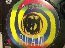 "The B52's  - Roam Mega Rare 12"" Picture Disc Maxi Single LP NM ( Cosmic Thing)"
