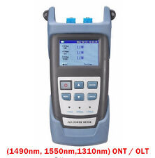 PON Optical Power Meter with PON Network Testing Wavelength (1490, 1550,1310nm)