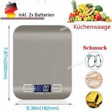 Digital Waage Feinwage Goldwaage Münzwaage Taschenwaage Präzisionwaage Küchen DE