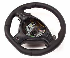 Intercambio aplanada volante de cuero M-Power bmw e46 m3 x5-diafragma multi SMG