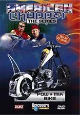 AMERICAN CHOPPER THE SERIES - POW * MIA BIKE 3 PROGRAMME DVD - FREE POST IN UK