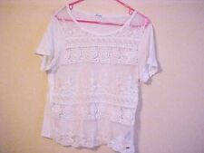 WOMENS SIZE L/G PULL OVER LACY AEROPOSTALE