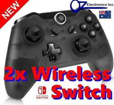 2x New Black Wireless Game Controller for Nintendo Switch Melbourne Australia