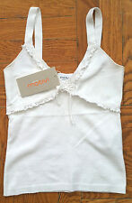 New with Tags Motivi Knit Top Sz. Small White