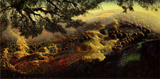 "Eyvind Earle     ""Paradise""    MAKE  OFFER    DSS"