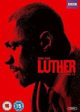 Luther - Complete Series 1 2 & 3 (6 DVD set) BBC Idris Elba Ruth Wilson Box set