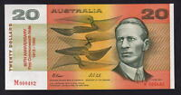 (1993) 20 Dollars -  Fraser/Cole. 80th Anniv Issue with Red Overprint.  Low #