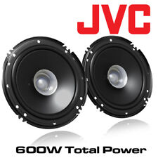 "VW Polo 2001-2009 JVC 6.5"" 17cm Dual-Cone Coaxial Speakers 600W Door Speakers"